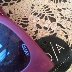 Quay Australia Accessories - nwt quay australia   pink starstruck sunglasses